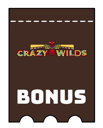 Latest bonus spins from Crazy Wilds