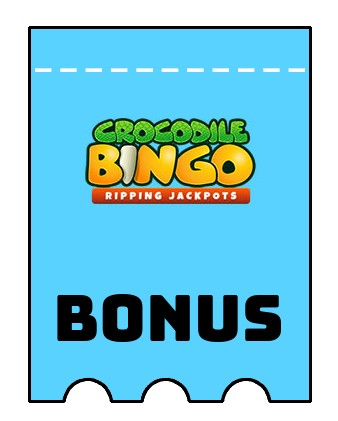 Latest bonus spins from Crocodile Bingo