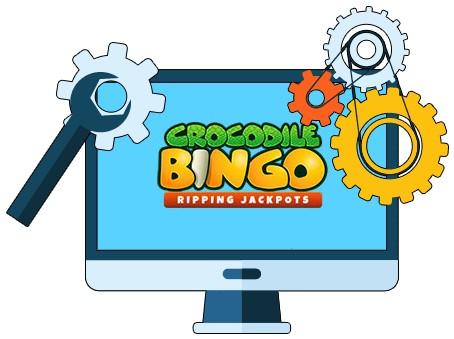 Crocodile Bingo - Software