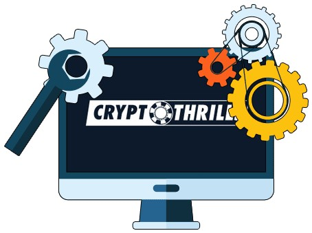 Cryptothrills Casino - Software