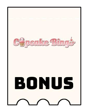 Latest bonus spins from Cupcake Bingo Casino