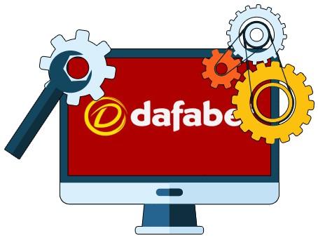 Dafabet Casino - Software