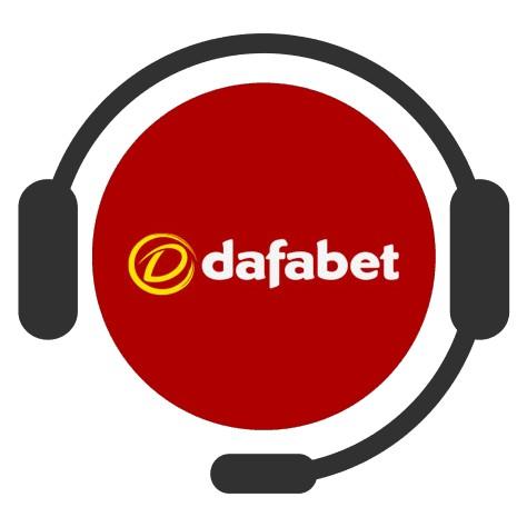 Dafabet Casino - Support