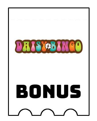 Latest bonus spins from Daisy Bingo Casino