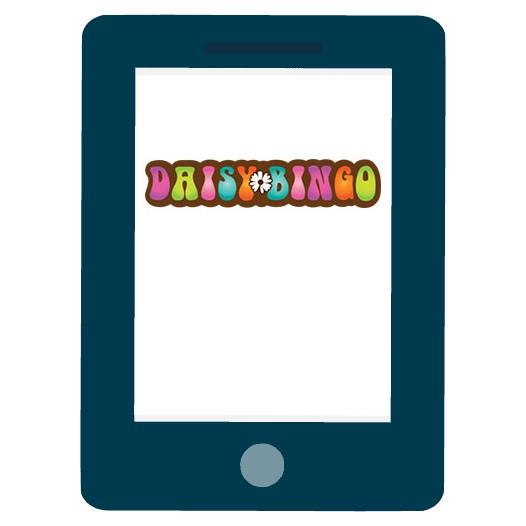 Daisy Bingo Casino - Mobile friendly