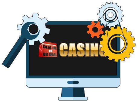 Deal or no Deal Casino - Software