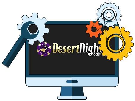 Desert Nights Casino - Software