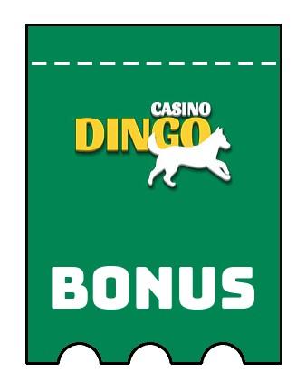 Latest bonus spins from Dingo Casino