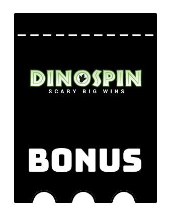 Latest bonus spins from DinoSpin