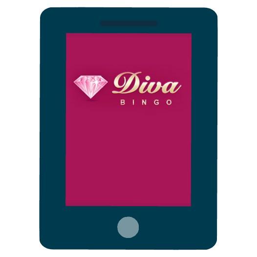 Diva Bingo Casino - Mobile friendly