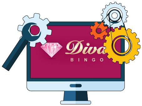 Diva Bingo Casino - Software