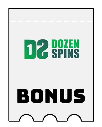 Latest bonus spins from DozenSpins