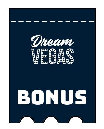 Latest bonus spins from Dream Vegas Casino