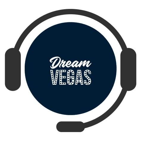 Dream Vegas Casino - Support
