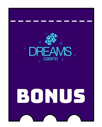 Latest bonus spins from Dreams Casino