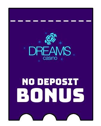 Dreams Casino - no deposit bonus CR