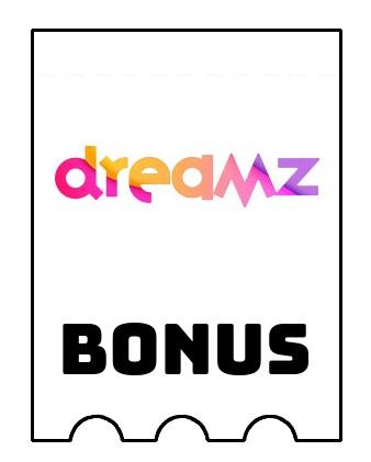Latest bonus spins from Dreamz Casino