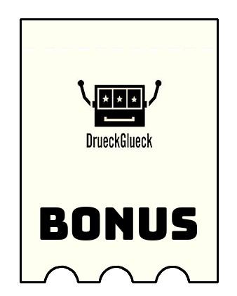 Latest bonus spins from DrueckGlueck Casino