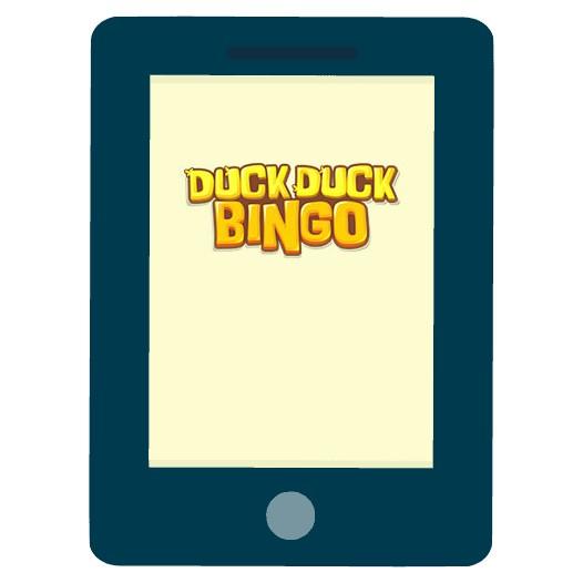 Duck Duck Bingo Casino - Mobile friendly