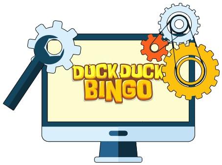 Duck Duck Bingo Casino - Software