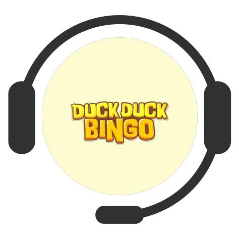 Duck Duck Bingo Casino - Support