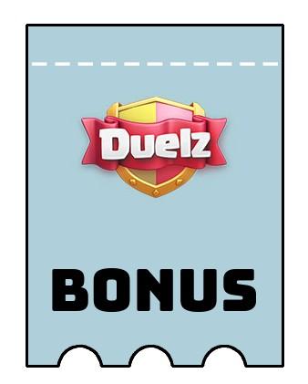 Latest bonus spins from Duelz Casino