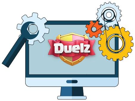 Duelz Casino - Software