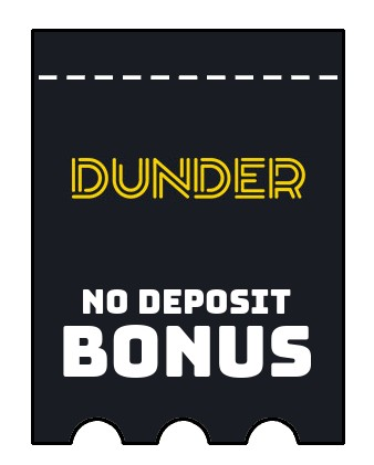 Dunder Casino - no deposit bonus CR