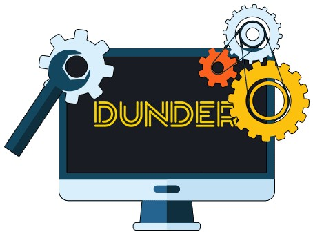 Dunder Casino - Software