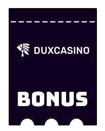 Latest bonus spins from Duxcasino