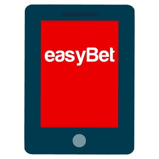 Easybet - Mobile friendly