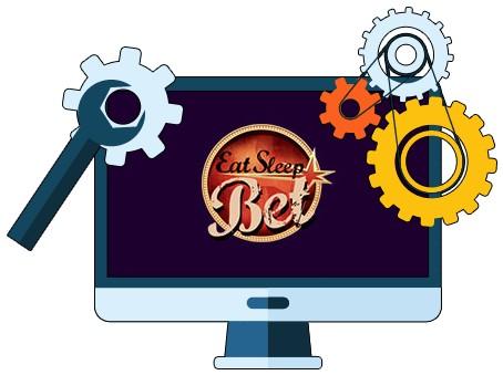 Eat Sleep Bet Casino - Software