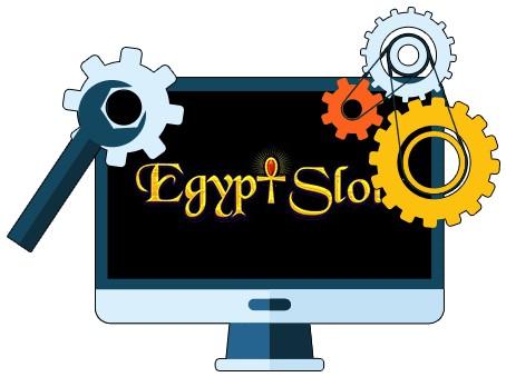 Egypt Slots Casino - Software