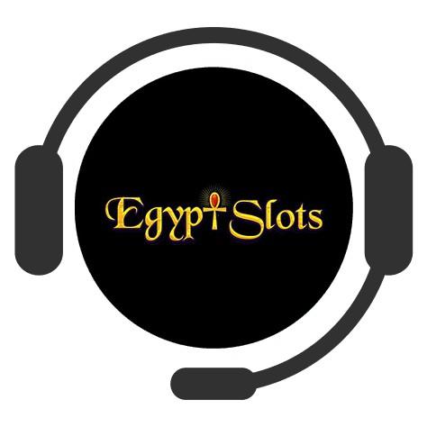 Egypt Slots Casino - Support