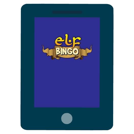 Elf Bingo - Mobile friendly