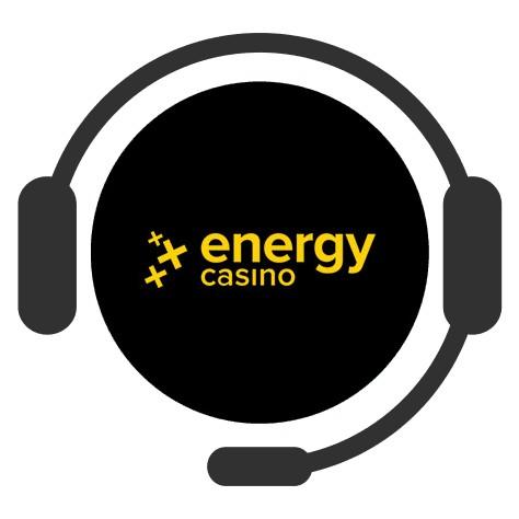 Energy Casino - Support