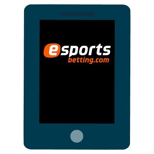 Esports Betting Casino - Mobile friendly