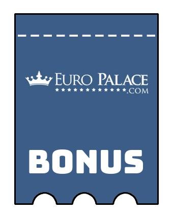 Latest bonus spins from Euro Palace Casino