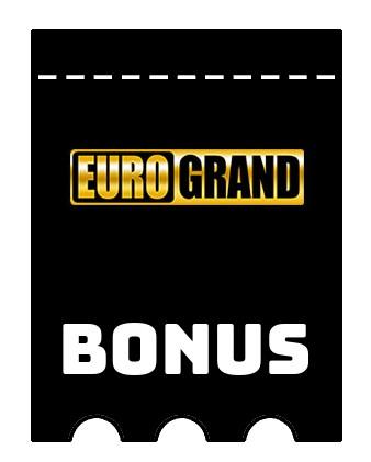Latest bonus spins from EuroGrand Casino