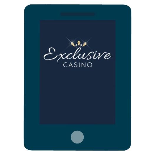 Exclusive Casino - Mobile friendly