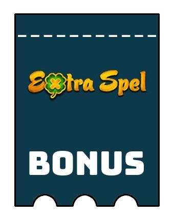 Latest bonus spins from Extraspel Casino