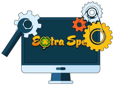 Extraspel Casino - Software