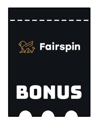 Latest bonus spins from Fairspin