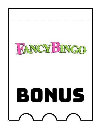 Latest bonus spins from Fancy Bingo