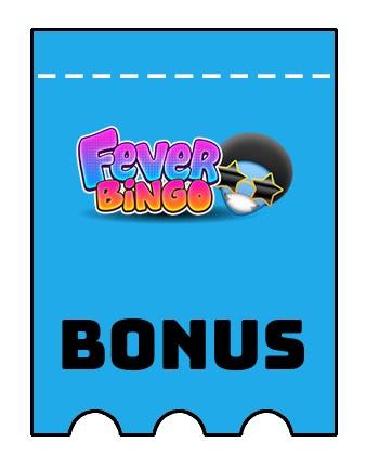 Latest bonus spins from Fever Bingo