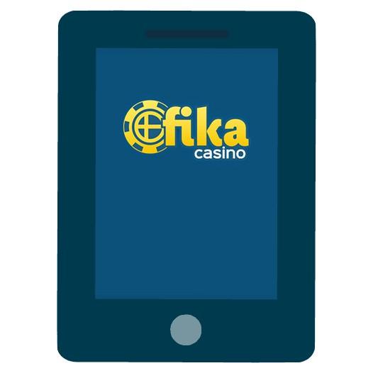 Fika Casino - Mobile friendly