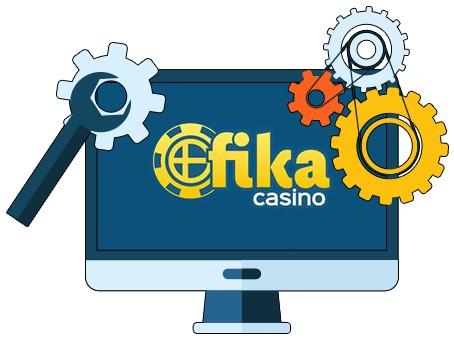 Fika Casino - Software