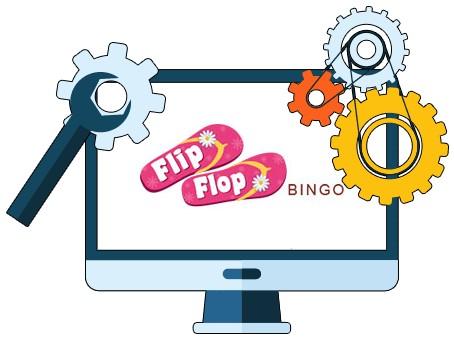 Flip Flop Bingo - Software