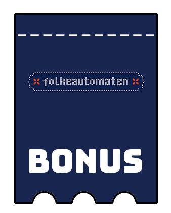 Latest bonus spins from Folkeautomaten Casino