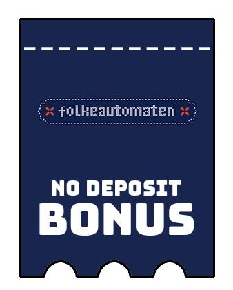 Folkeautomaten Casino - no deposit bonus CR
